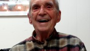 Jesuit Father Daniel Berrigan is pictured in 2011. (Photo by and courtesy of Jim Forest)